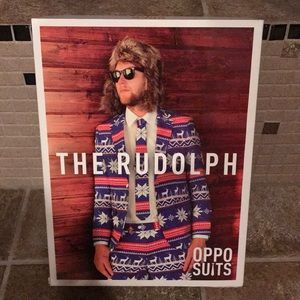 Oppo suits Christmas suit. The Rudolph